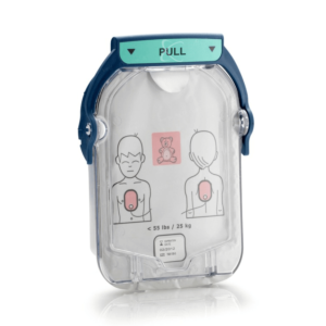 Philips Heartstart HS 1 paediatric electrode pads