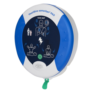 HeartSine Samaritan 360P fully automatic AED with FREE accessories