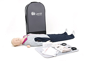 Laerdal Resusci Anne with QCPR, full body with trolley