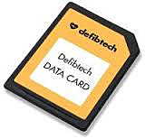 Defibtech Lifeline View Data card