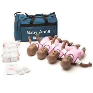 Laerdal Baby Anne (pack of 4) with dark skin