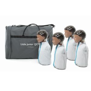 Laerdal Little Junior QCPR (pack of 4) Dark Skin