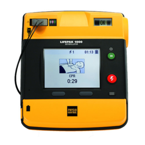 Physio-Control Lifepak 1000 semi-automatic AED