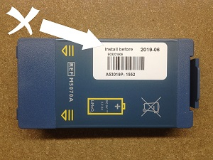 Philips HS1 Battery