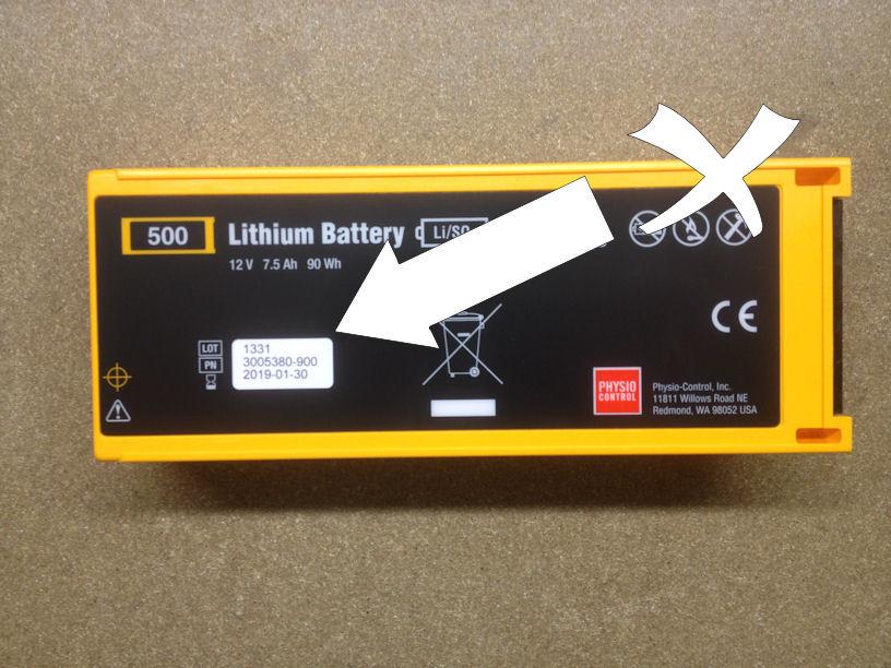 Lifepak Battery