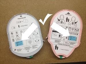 Heartsine Electrodes